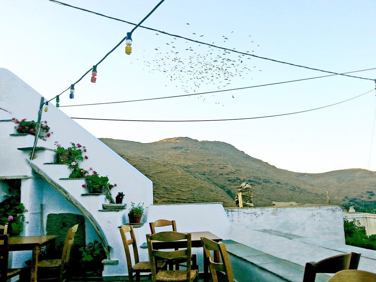 tinos-greek-island-beaches-tourism-kounaria Tavern_Aetofolia Village-relax