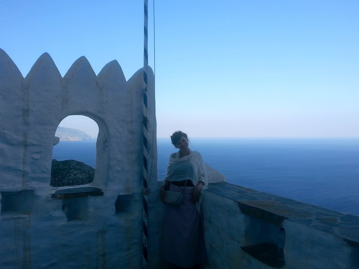 amorgos-cyclades-island-endless-blue-greece-summer-vacation-Monastery-black-white
