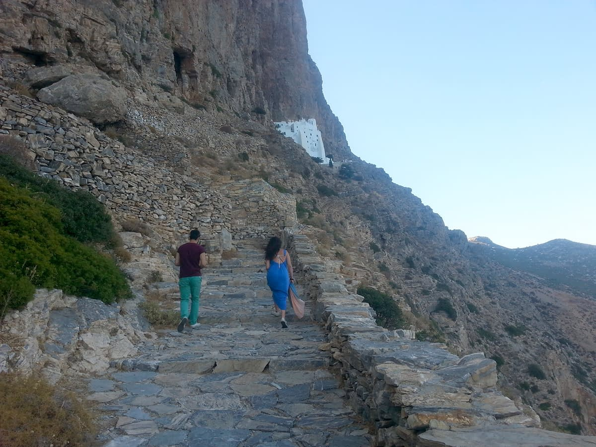 amorgos-cyclades-island-endless-blue-greece-summer-vacation-Monastery-stairs