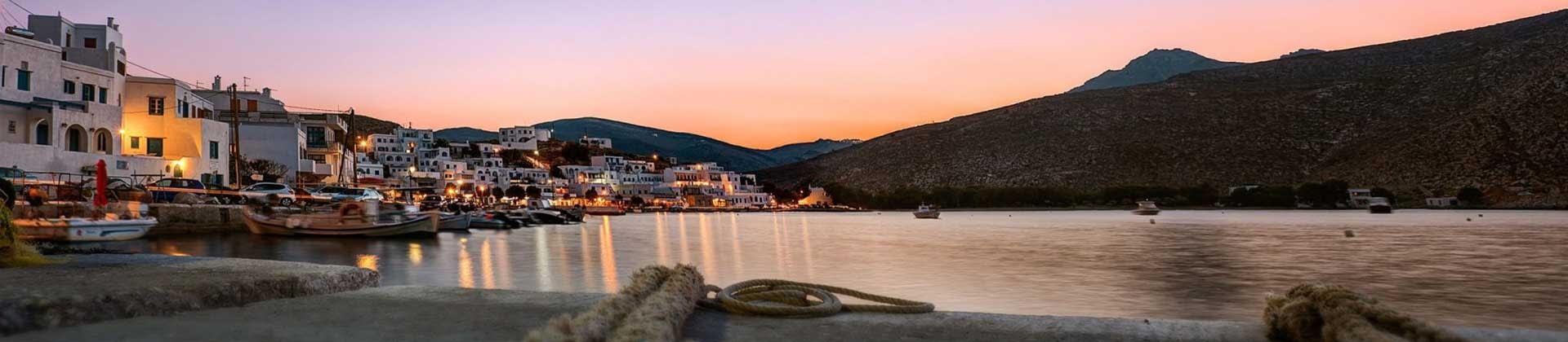Tinos Panormos Village, Greece and Around